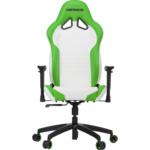 VERTAGEAR Vertagear Racing Series S-Line SL2000 Gaming Chair White&Green VG-SL2000_WGR [ゲーミングチェア/ホワイト&グリーン] SL2000シリーズ (VGSL2000WGR)