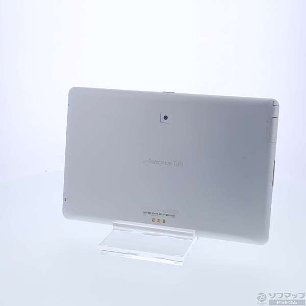 【送料無料】【中古】富士通ARROWS Tab 64GB ホワイト F-02F docomo【291-ud】