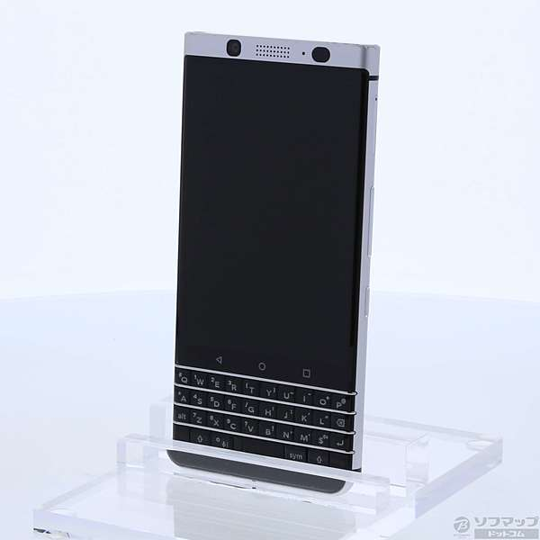 【送料無料】【中古】BlackBerryBlackBerry KEYone 32GB シルバー BBB1006 SIMフリー【291-ud】