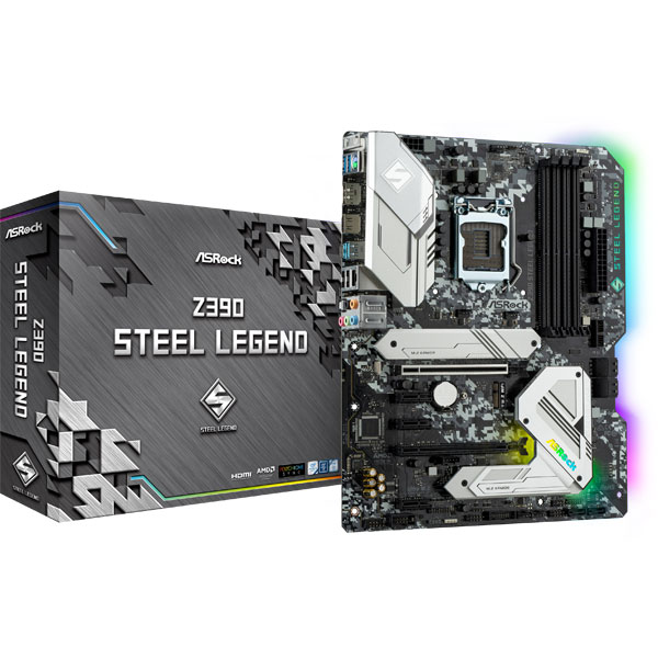 【送料無料】ASRock(アスロック) Z390 Steel Legend (Z390STEELLEGEND)
