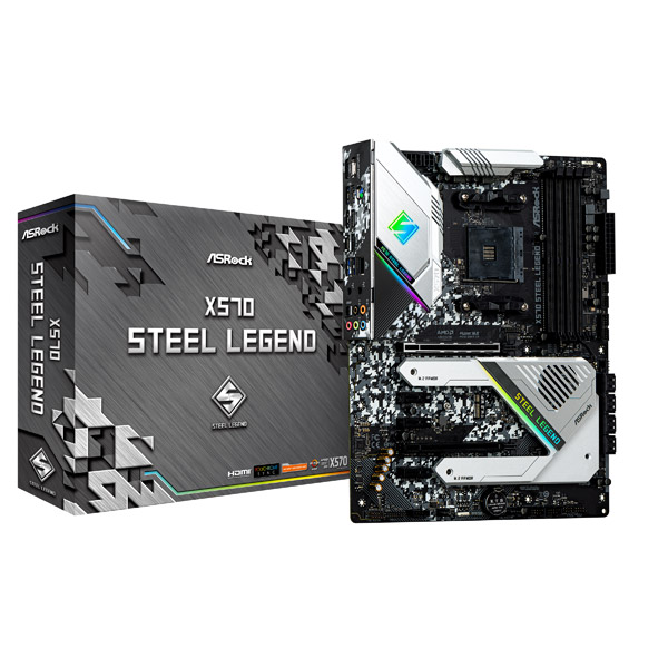 【新品】ASRock(アスロック) X570 Steel Legend (X570STEELLEGEND)