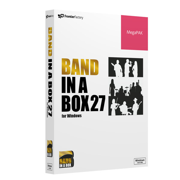 PG Music Band-in-a-Box 27 for Win MegaPAK [Windows用] PGBBRMW111