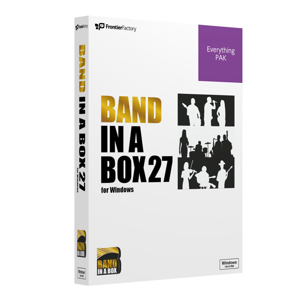 PG Music Band-in-a-Box 27 for Win EverythingPAK [Windows用] PGBBREW111