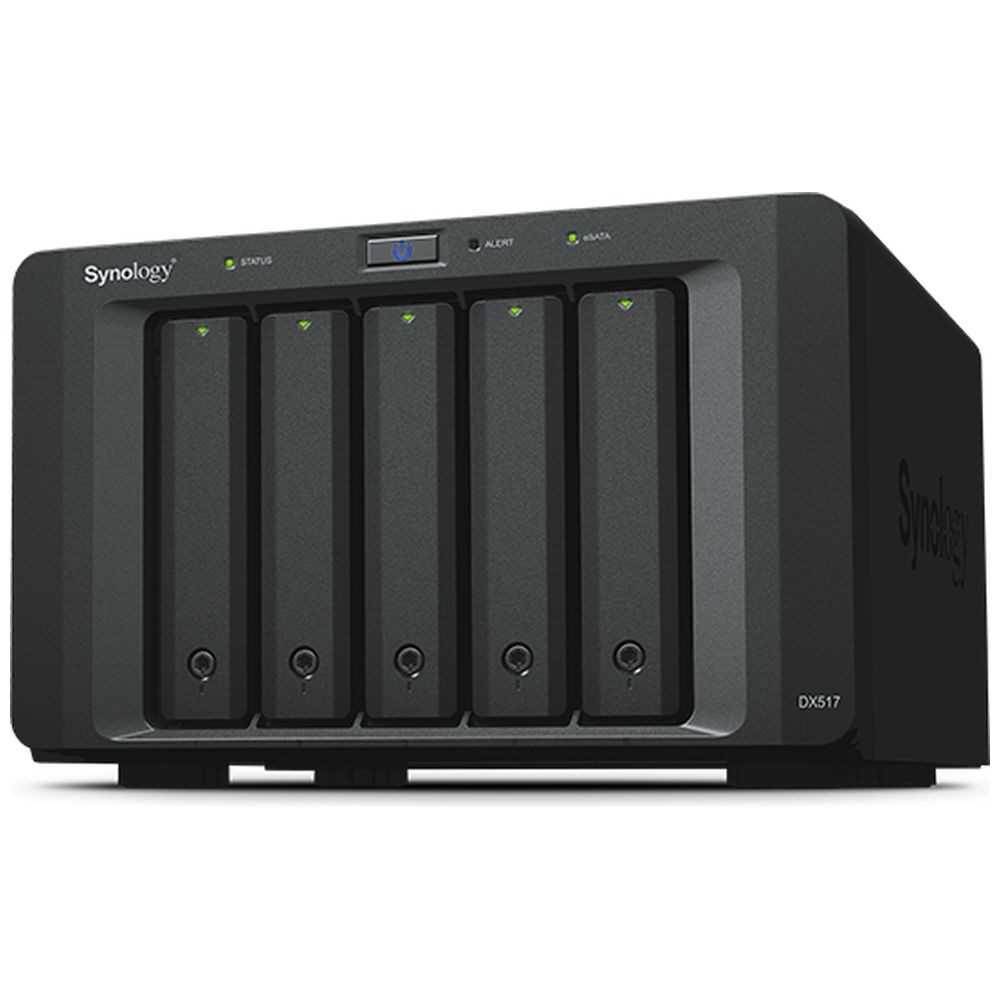 SYNOLOGY DiskStation用拡張ユニット【HDD/SSD無】2.5/3.5インチ 8台[eSATA]DiskExpansion (DX517)