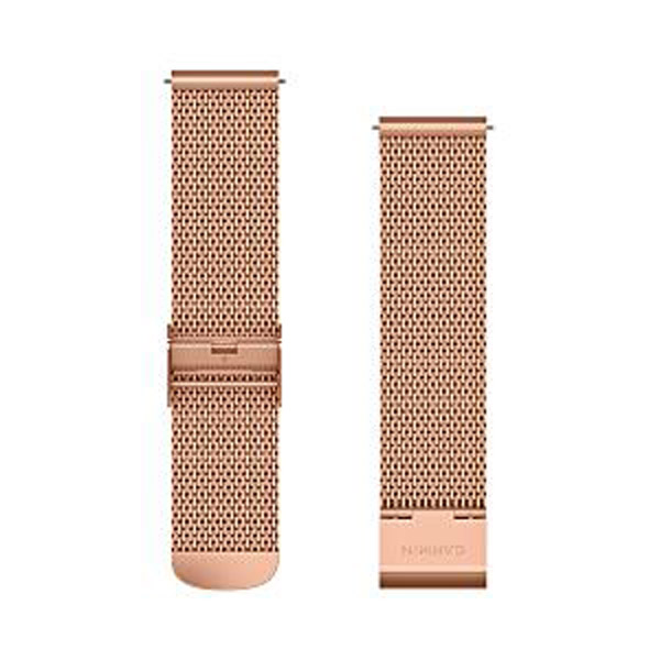 ガーミン(GARMIN) Quick Release バンド 20mm 18K Rose Gold PVD Milanese 010-12924-64 (0101292464)