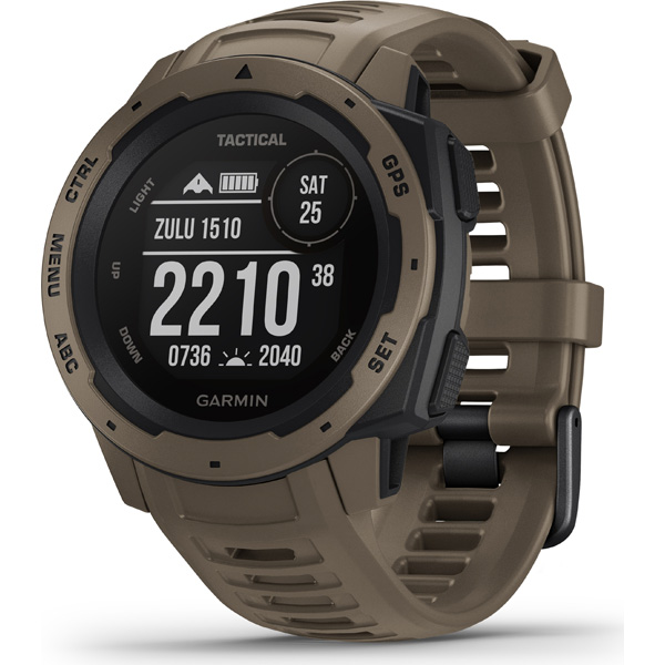 GARMIN(ガーミン) INSTINCT Tactical 010-02064-92 Coyote Tan (0100206492)