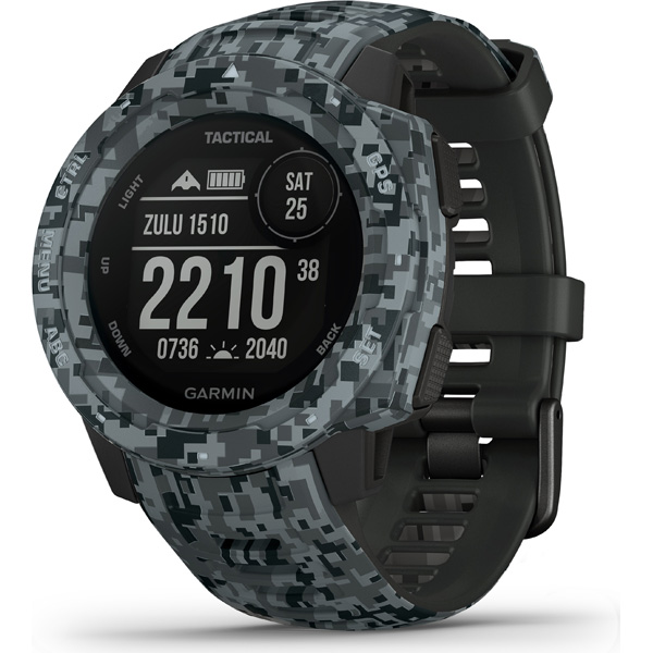 GARMIN(ガーミン) INSTINCT Tactical 010-02064-C2 Camo Graphite (01002064C2)