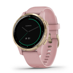 【新品】ガーミン(GARMIN) vivoactive 4S Dust Rose / Light Gold 010-02172-37 (0100217237)