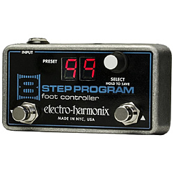 ELECTROHARMONIX その他エフェクター 8 STEP PROGRAM FOOT CONTROLLER 8STEPPROGRAMFOOTCONT