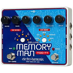 ELECTROHARMONIX 空間系エフェクター DELUXE MEMORY MAN 1100TT DELUXEMEMORYMAN1100T