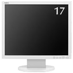 NEC(エヌイーシー) 17型 LEDバックライト搭載液晶モニター (ホワイト) LCD-AS172-W5 LCDAS172W5