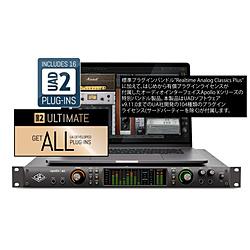 UNIVERSALAUDIO Thunderboltオーディオインターフェース[Mac/Win]プラグインライセンスバンドル APOLLO X6 / Ultimate 8 Upgrade APOLLOX6U8U [代引不可]