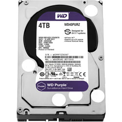 Western Digital WD Purple WD40PURZ バルク品 (3.5インチ/4TB/SATA) WD40PURZ