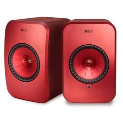 KEF ハイレゾ対応 フルワイヤレス・スピーカー LSX マルーンレッド [ハイレゾ対応 /Bluetooth対応 /Wi-Fi対応] LSX