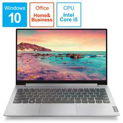 Lenovo(レノボジャパン) モバイルノートPC ideapad S340 i5 81UM0022JP プラチナグレー [Core i5・13.3インチ・Office付き・SSD 512GB・メモリ 8GB] 81UM0022JP