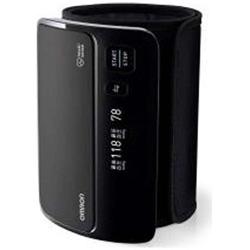 オムロン 上腕式血圧計 HEM-7600T-BK ブラック HEM7600TBK