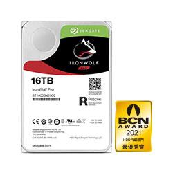 Seagate IronWolf Pro ST16000NE000 (3.5インチ/16TB/SATA) ST16000NE000
