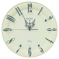 SEIKO 掛け時計 「大人ディスニー ミッキー&ミニー」 FS506C FS506C