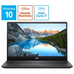 DELL(デル) NI785-9NHBC ノートパソコン Inspiron 15 7000 7590 ブラック [15.6型 /intel Core i7 /SSD:512GB /メモリ:8GB /2019年夏モデ NI7859NHBC [振込不可]