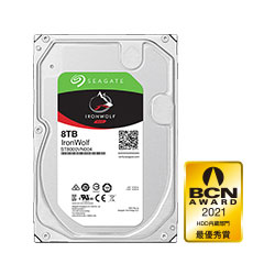 Seagate IronWolf ST8000VN004 バルク品 (3.5インチ/8TB/SATA) ST8000VN004