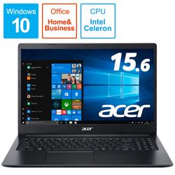 Acer(エイサー) A315-34-F14U/KF ノートパソコン Aspire 3 チャコールブラック [15.6型 /intel Celeron /SSD:256GB /メモリ:4GB /2019年11月モデル] A31534F14UKF