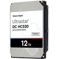 Western Digital HUH721212ALE604 内蔵HDD Ultrastar DC HC520 [3.5インチ /12TB] HUH721212ALE604