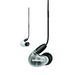 SHURE(シュア) AONIC4 ホワイト【リモコン・マイク対応】 耳かけカナル型イヤホン SE42HYW+UNIA