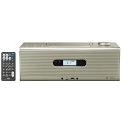 JVCケンウッド CDラジオ(ラジオ+CD)USB対応 ゴールド RDW1N 【ワイドFM対応】 RDW1N