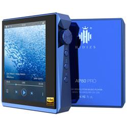 Hidizs(ヒディス) ハイレゾポータブルプレーヤー ブルー AP80PROBLUE [ハイレゾ対応] AP80PROBU