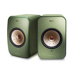 KEF ハイレゾ対応 フルワイヤレス・スピーカー LSX オリーブグリーン [ハイレゾ対応 /Bluetooth対応 /Wi-Fi対応] LSX
