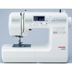 ジャノメ IJ602 ミシン 選択 コンピュータミシン 35%OFF 振込不可