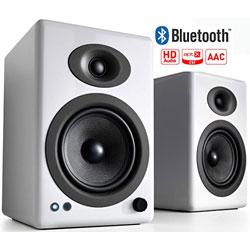 AUDIOENGINE A5+ ワイヤレススピーカーシステム(ペア) ハイグロス・ホワイトペイント A5+BTW [Bluetooth対応] A5+BTW