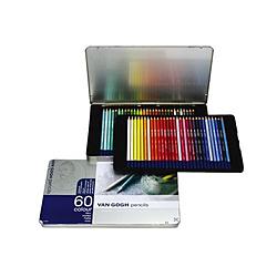 サクラクレパス ヴァンゴッホ色鉛筆60色セット T9773-0065 T97730065
