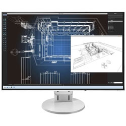 EIZO(エイゾー) FlexScan EV2456-RWT(ホワイト) 24.1型LEDバックライト搭載液晶モニター[1920×1200/IPS/DisplayPort・DVI-D・HDMI・VGA] EV2456RWT