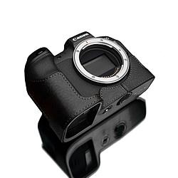 GARIZ GARIZ ゲリズ キヤノンEOS R用本革カメラハーフケース XS-CHEOSRBK ブラック XS-CHEOSRBK ブラック XSCHEOSRBK