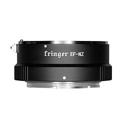 FRINGER FR-NZ1 電子接点 絞りリング付きマウントアダプター レンズ側:キャノンEFマウントレンズ カメラ側:ニコンZマウント FR-NZ1 FRNZ1