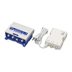 無料サンプルOK サン電子 新4K8K衛星放送対応 利得切換式CS BS 受賞店 UHFブースタ 電源分離型 CBFK453DP