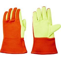 トラスコ中山 TRUSCO 300℃対応耐熱手袋 高断熱タイプ ケブラーX耐炎フェルトダブル TMT741