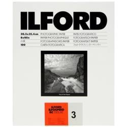 イルフォード イルフォスピード RC デラックス 3号44M 8X10 100枚入  [100枚 /半光沢] ISRC344M8X10100