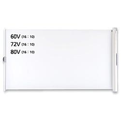 IZUMI プロジェクタースクリーン WOL-GX72V [72インチ /マグネット] WOLGX72V