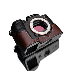 GARIZ SONY α7R IV 用 本革カメラケース XS-CHA7RM4BR ブラウン XSCHA7RM4BR