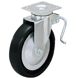 スガツネ工業 重量用キャスター径127自在ブレーキ付D(200-133-470) 31405BPD 31405BPD