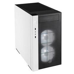 Silver Stone SST-RL08BW-RGB (ミニタワーケース/電源別売り/ブラック・ホワイト) SSTRL08BWRGB