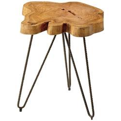 東谷 ムク テーブル TTF-185(W40×約D40×約H45cm) TTF185