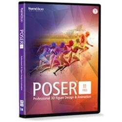 イーフロンティア 〔Win・Mac版〕 Poser Pro 11 POSERPRO11