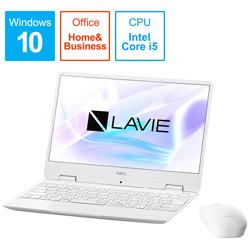 【在庫限り】 NEC(エヌイーシー) PC-NM550MAW-2 ノートパソコン LAVIE Note Mobile パールホワイト [12.5型 /intel Core i5/メモリ 8GB/SSD 256GB] PCNM550MAW2 [振込不可]
