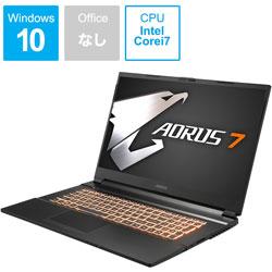 GIGABYTE(ギガバイト) AORUS7MB-7JP1130SH ゲーミングノートパソコン AORUS 7 [17.3型 /intel Core i7 /SSD:512GB /メモリ:16GB /2020年7月モデル] AORUS7MB7JP1130SH