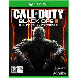 Microsoft マイクロソフト CALL 店内全品対象 OF DUTY 半額 BLACK OPSIII Oneゲームソフト Xbox コール ブラックオプスIII オブ デューティ