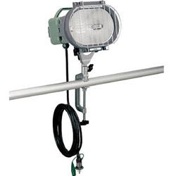 ハタヤリミテッド 瞬時再点灯型150Wメタルハライドライト10m電線付バイス取付タイプ MLV110KH MLV110KH