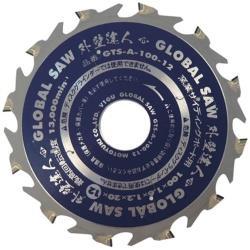 モトユキ モトユキ グローバルソー 窯業サイディングボード用チップソー 外壁達人 GTS-A-100-12 GTSA10012